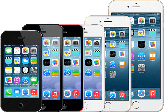 Ремонт телефонов Apple iPhone