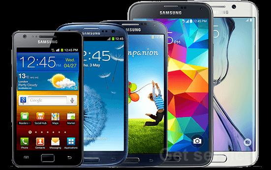 Ремонт телефонов Samsung Galaxy