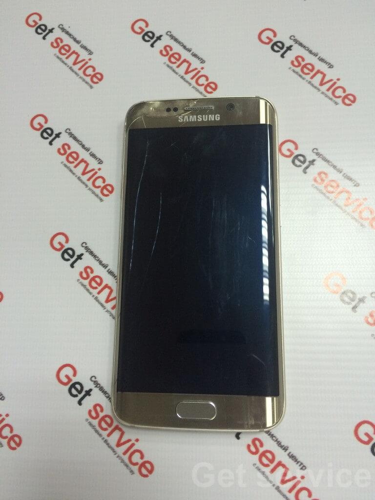 Замена стекла на Samsung S6 Edge g925 битый дисплей