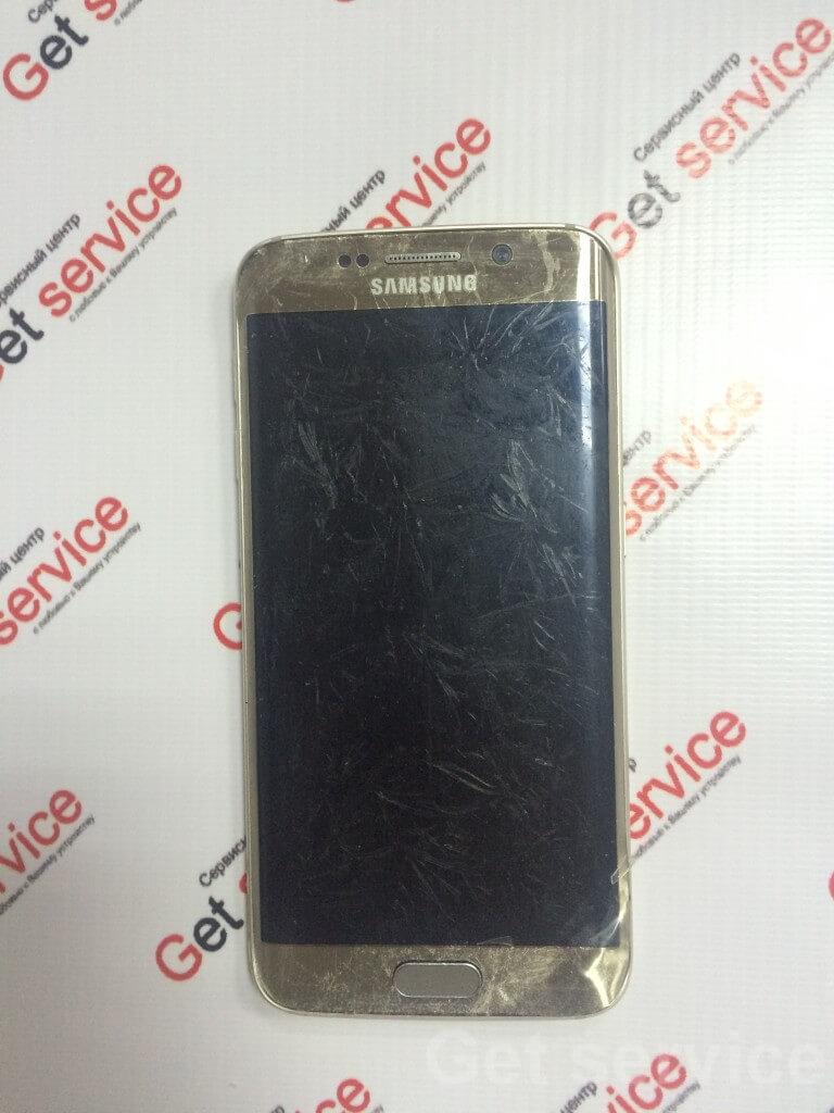 Замена стекла на Samsung S6 Edge g925 без стекла