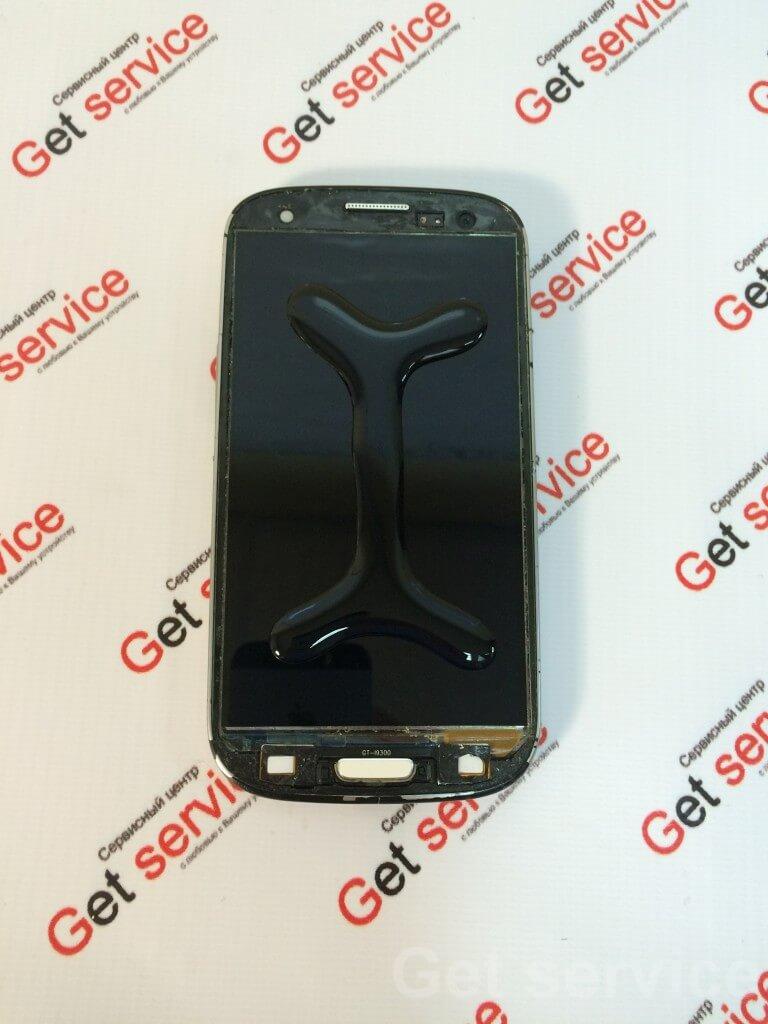 Переклейка стекла на Samsung S3 i9300 LOCA