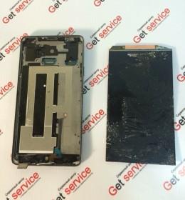 Замена стекла на Samsung Note 4 N910 отклеить дисплей