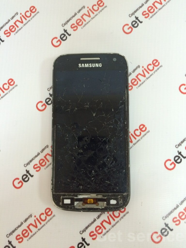 Снятое стекло с Samsung S4 mini