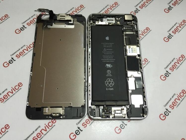 Замена стекла iPhone 6 Плюс в Киеве