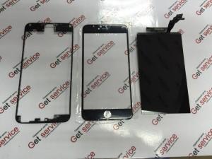 Замена разбитого стекла на айфон 6 плюс