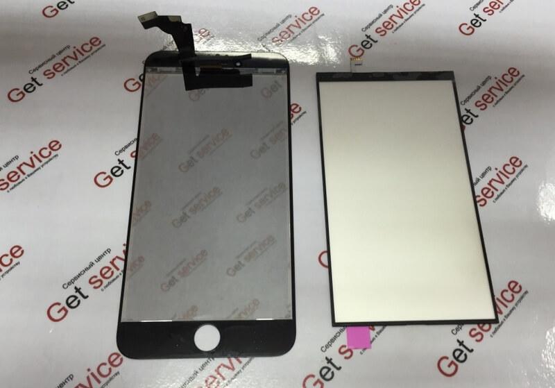 Замена стекла на айфон 6: пластмасcовая рамка