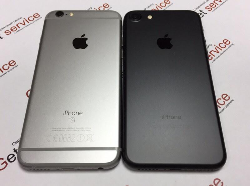 Отличие iPhone 6s и iPhone 7