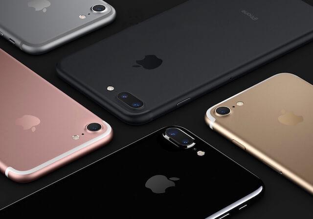 новые цвета iPhone 7