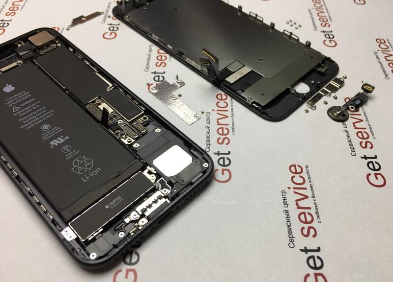 Описание разборки iPhone 7