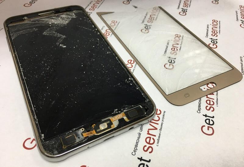 Процесс замены стекла Samsung J7 2015 (J700H)