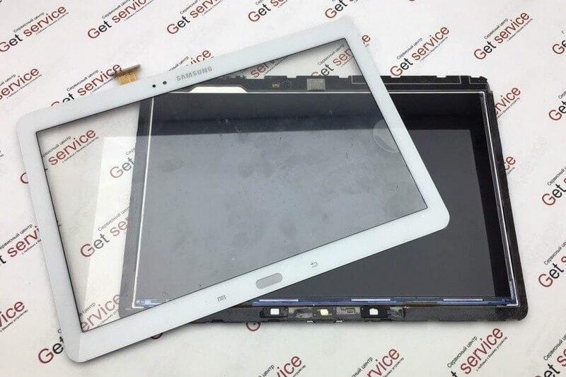 замена стекла отдельно от экрана samsung p 600