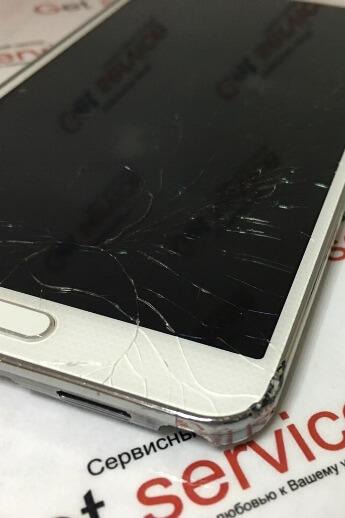 Замена стекла Samsung Galaxy Note 3 N900