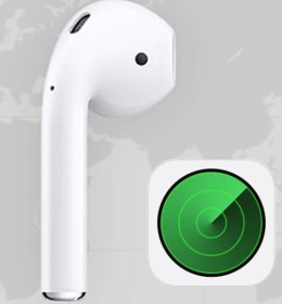 Apple AirPods потерялись